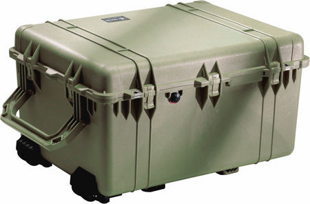 Pelican 1630 Transport Case w/Foam - OD Green