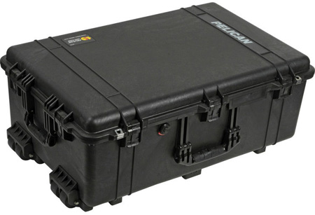 Pelican 1650 Case No Foam OD Green