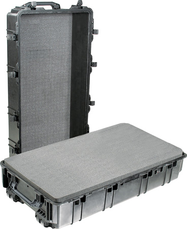 Pelican 1780 Transport Case without Foam - Black