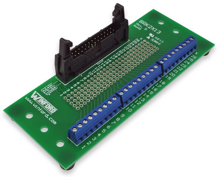Winford BRK2X13-L-FT Header Breakout Board