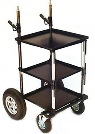 Backstage EFX Transformer Cart with 8in Wheel Kit