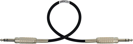 Belden Star-Quad Audio Cable 1/4-TRS Balanced Male to Male 25 Foot - Black