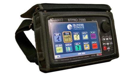 Blonder Tongue BTPRO-7000S HD Tablet Signal Analyzer with Li-Ion battery