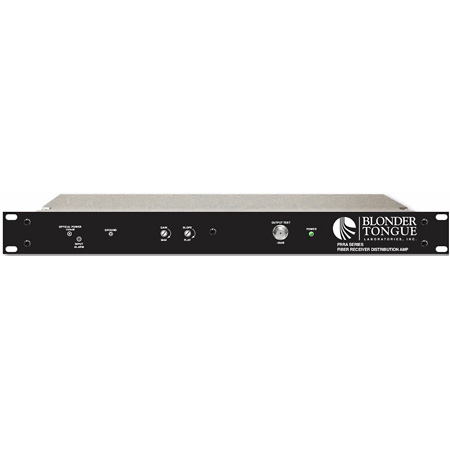 Blonder Tongue FRRA-S4A-1000-SC Fiber Optic Receiver/RF Distribution Amplifier 45-1000 MHz - Single-Mode SC/APC Connect