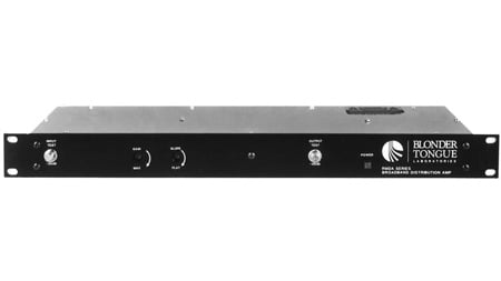 Blonder Tongue RMDA 860-S15 Rack Mounted Distribution Amplifier 15Db 47-860 Mhz Single Hybrid 100-240 Vac 50/60 Hz