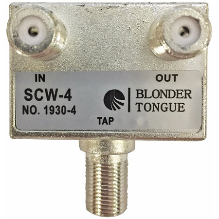 Blonder Tongue SCW Directional Tap - 1 Output Value 6