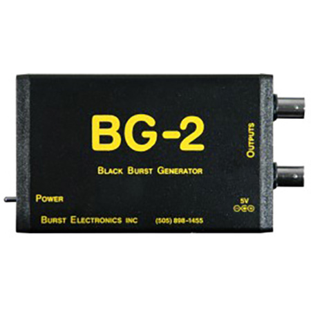 Burst BG-2CB Unbalanced RCA Dual Out Blackburst Generator w/Color Bars