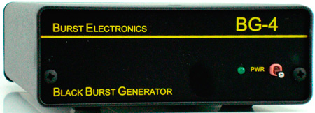 Burst BG-4 Quad Output Black Burst Generator with Tone