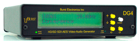 Burst Electronics DG-4 Digital Generator (HD/SD/AES)