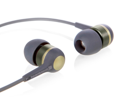 Beyerdynamic DTX 41 iE In-ear Headphones -Grey/Gold