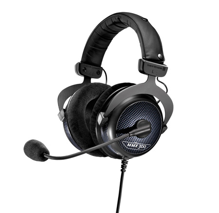 Beyerdynamic MMX 300 Premium Multimedia Headset with Boom Mic & Headphone Combo