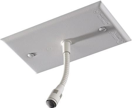 Beyerdynamic OM-302-US Miniature Cardioid Condenser Hanging Gooseneck Mic - White