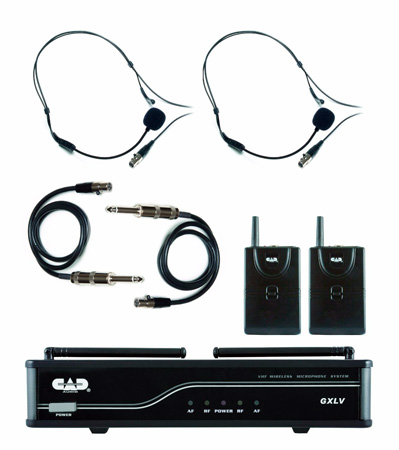 CAD Audio GXLVBB Dual Channel Wireless VHF - Bodypack