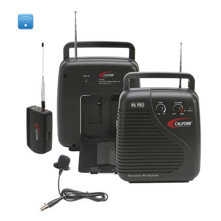 Califone PA-10B Portable PA System - 210.250 MHz