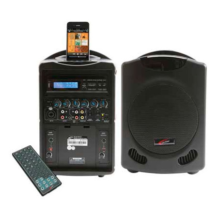Califone PA419 iPod Wireless Portable PA System