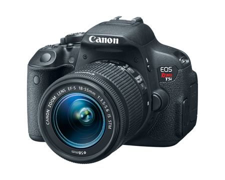 Canon EOS Rebel T5I EF-S 18-55MM IS STM Kit