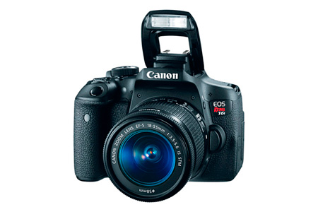Canon EOS Rebel T6i Kit EF-S 18–55mm IS STM KIT