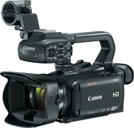 Canon XA35 High Definition Camcorder with Built-In Wi-Fi and HD/SD-SDI Output