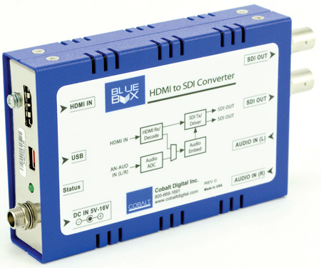 Cobalt BBG-HTOS Blue Box HDMI to SDI