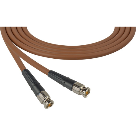Premium BNC to BNC Video Cable 100ft  Brown