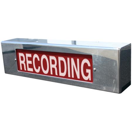Cbt Value 12 Volt Ac Dc Recording Light Red