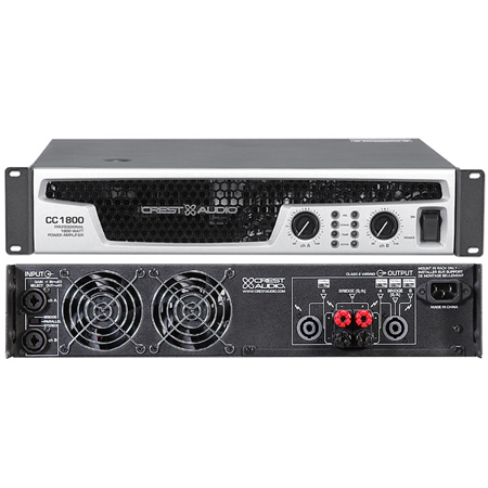 Crest Audio CC Series Amplifiers CC1800