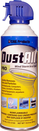 Caig CCS-2100 10 Ounce DustAll (Non-Flammable)