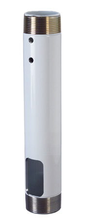 Chief CMS012018W 12-18 Inch Speed-Connect Adjustable Extension Column (White)