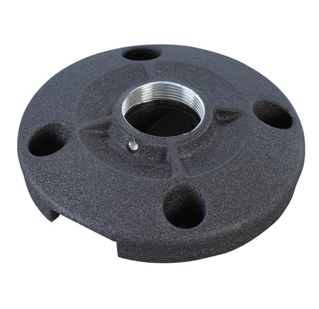 Chief CMS115 6 Inch (152 mm) Speed-Connect Ceiling Plate Black