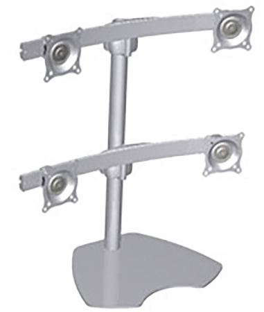 chief ktp440s quad monitor table stand silver RCA TV Model L32HD31R chf ktp440s