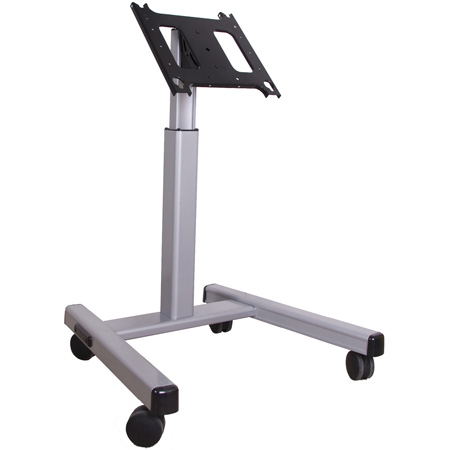 Chief MFMUS Flat Panel Confidence Monitor Cart (30-55 Inch Displays) Silver