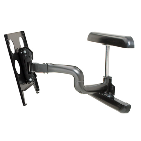Chief PWR2000B Large Flat Panel Swing Arm Wall Mount - 25 In (without interface)