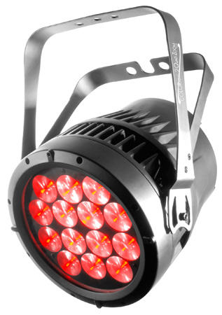 Chauvet Quad ZOOM Tour LED Par with 7 15-Watt LEDs & 7-29 Degree Zoom Range