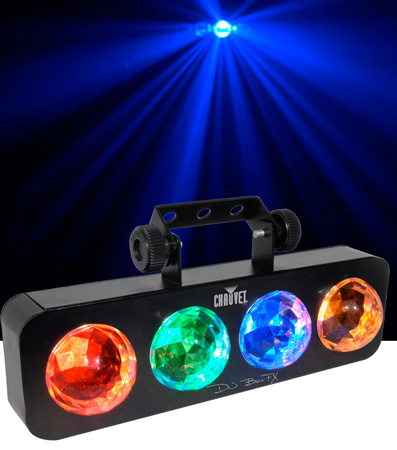 Chauvet DJBANKFX  Compact Bank-Style LED Effect Light with Mid-Air Effects