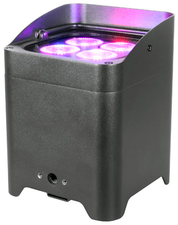 Chauvet Freedom Par Quad-4 - Wireless - Battery-operated - 4-color LED Par- D-Fi