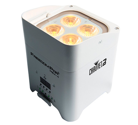 Chauvet FREEDOMPARHEX4WHT Freedom Par Hex-4 (White Housing)