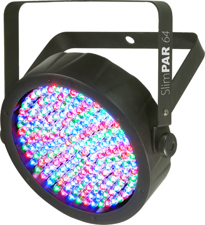 Chauvet SlimPAR 64 LED PAR 64 with a Slim 2.5-inch Thick Casing