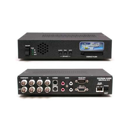 Chyron ChyTV Plus Dynamic Video Graphics Module with Ethernet Port