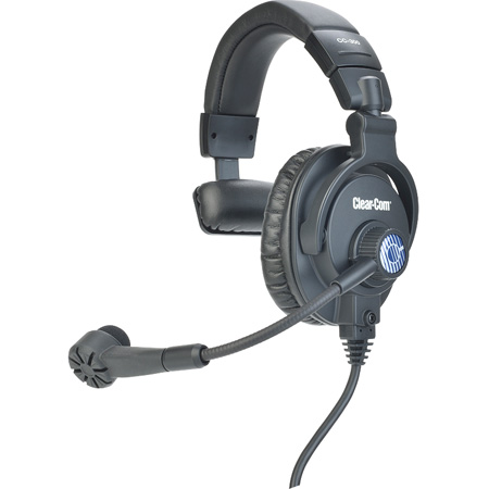 Clear-Com CC-300-Y4 Single-ear Headset Mic - XLR-4M