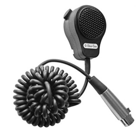 Clear-Com  PT-7 - Push-to-Talk Handheld Mic XLR-4F - 5 Ft Cord