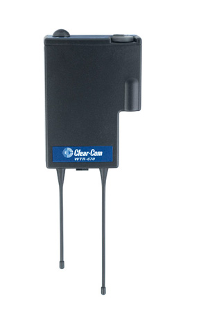 Clear-Com WTR-670 Single-Channel Wireless UHF Transceiver - Band A2