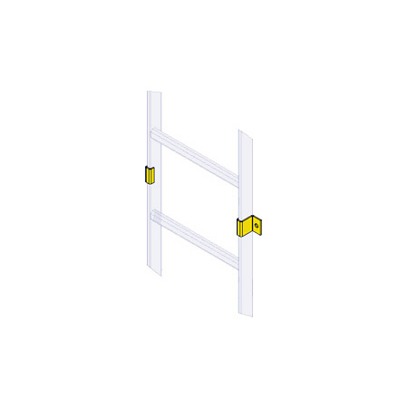 Ladder Wall Clamp (6 Pair)