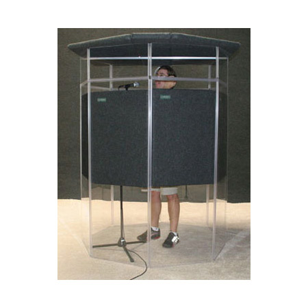 Clearsonic IPJD IsoPac J Dark Grey Vocal and Instrument Isolation Booth