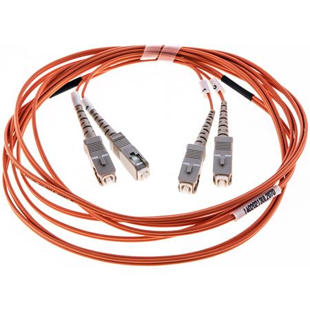 Cleerline DOM2SCSC05M SC/UPC-SC/UPC-1.6mm Riser-OM2-5m Fiber Cable
