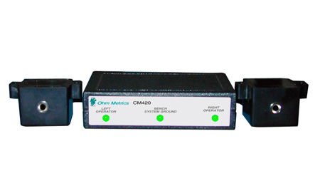 Transforming Technologies CM420 Dual Operator And Mat Impedance Monitor