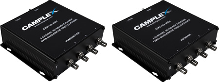 Camplex CMX-3G-4SDI 4-Channel 3G-SDI Multiplexer Over Singlemode Fiber Extender