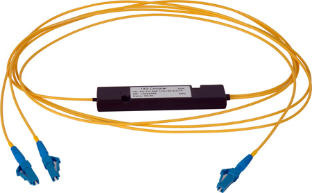 Camplex CMX-SM1X2LC-001 Singlemode LC Fiber Optic 1x2 Splitter Cable - 1 Foot