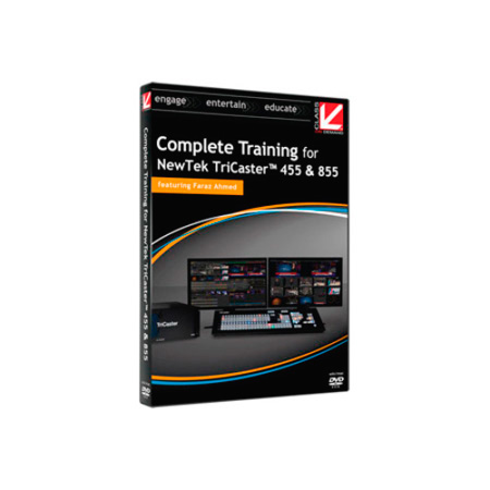 Complete Training for NewTek TriCaster 455 and 855 DVD-ROM