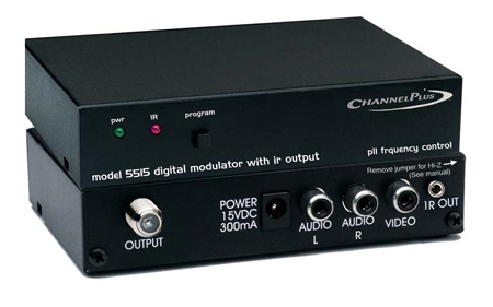 Channel Plus Dual Input Modulator