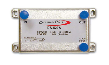 Channel Plus 20dB Bi-Directional Amplifier